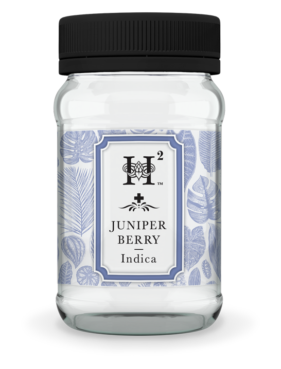 H2 Juniper Berry Indica Medical Marijuana Jar